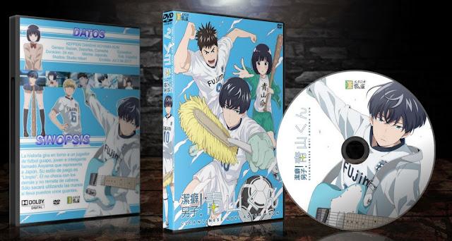 Keppeki Danshi! Aoyama-kun   Cover DVD   MEGA  