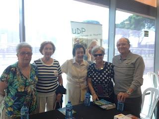 Miembros de UDP Madrid en MADURALIA