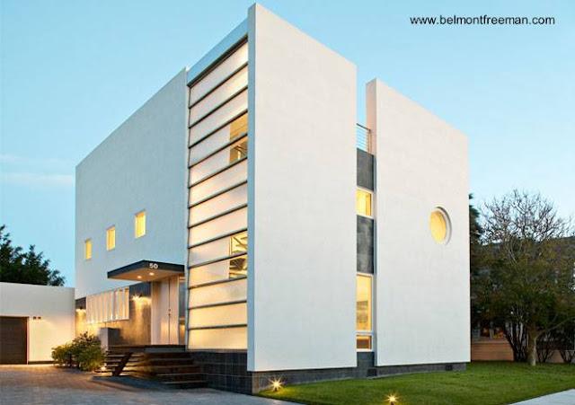 Residencia Kowalewski en Nassau diseño moderno estilo Contemporáneo