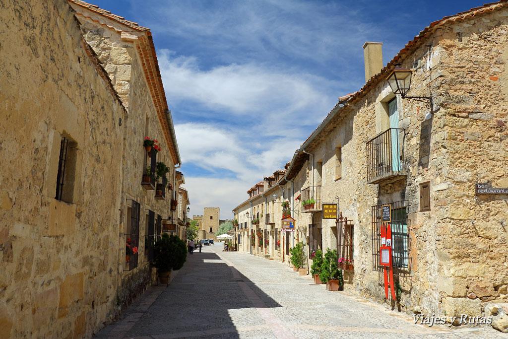 Calle Mayor de Pedraza