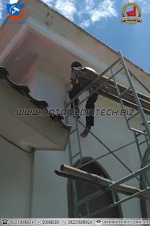 Pemasangan CCTV Masjid