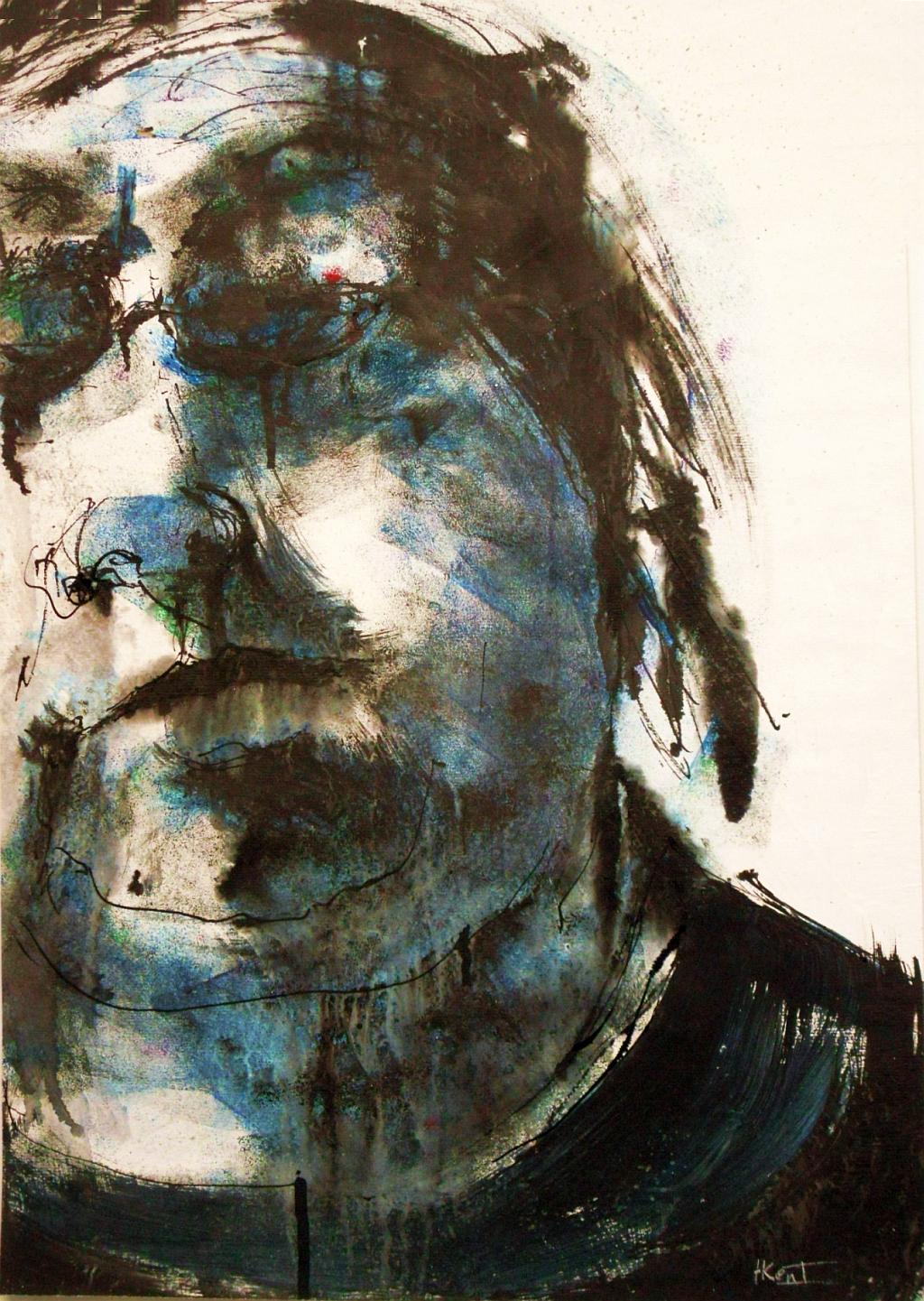 Tachisme Harry Kent Drawings Of Self