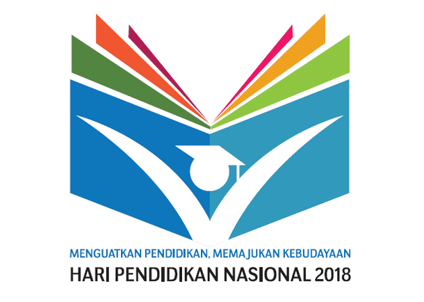 Logo Hari Pendidikan Nasional 2018