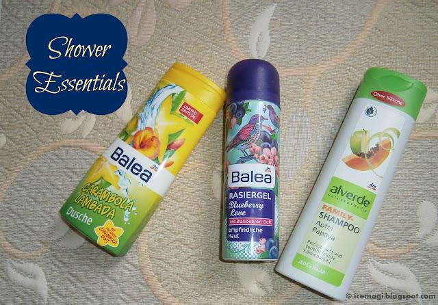 Shower Essentials | Balea & Alverde