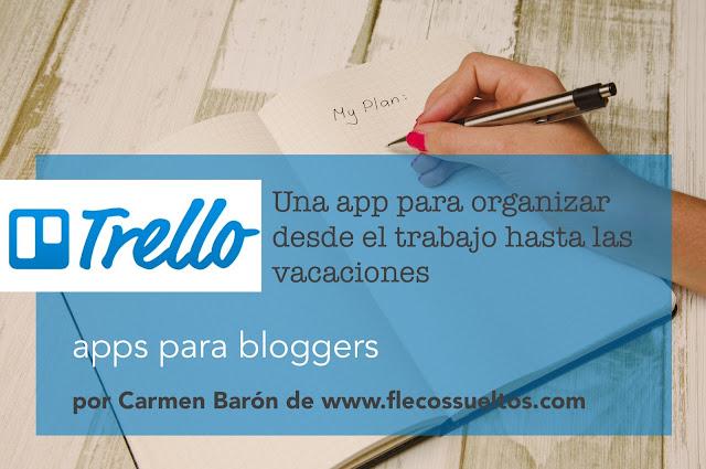 Trello app organización bloggers