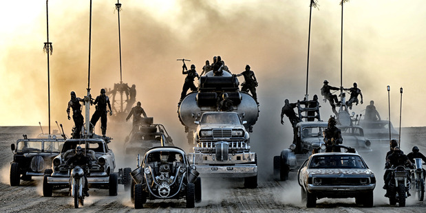 Isis using 'Mad Max-style' suicide vehicles
