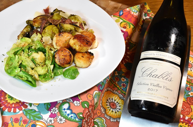 Scallops and Brussels Sprouts 2 Ways.