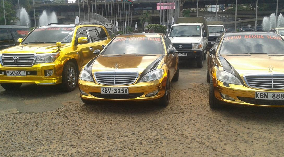 Mike Sonko Ordered By State To Remove National Flag From His Vehicles