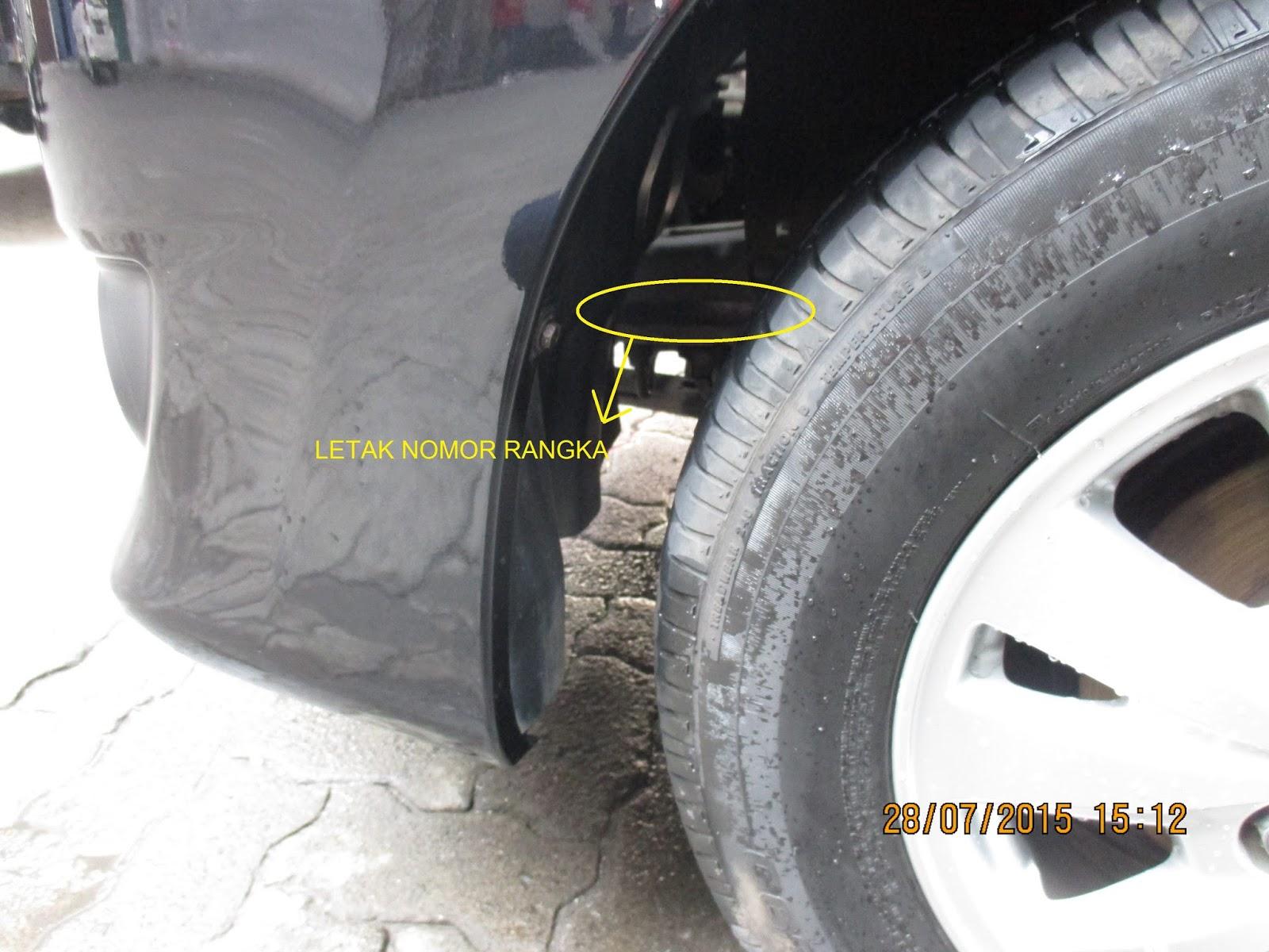 Harga Grand All New Avanza 2016 Yaris Trd 2018 Posisi Letak Nomor Mesin Dan Rangka Toyota Kijang ...
