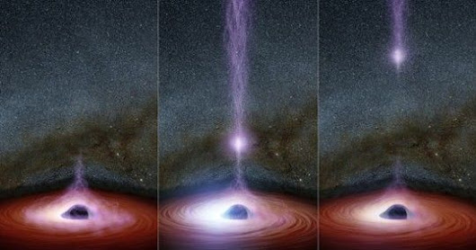 NASA Saw Something Come Out Of A Black Hole For The First Time Ever