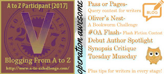#AtoZChallenge 2017 Operation Awesome V is for Valuable Gifts for Writers