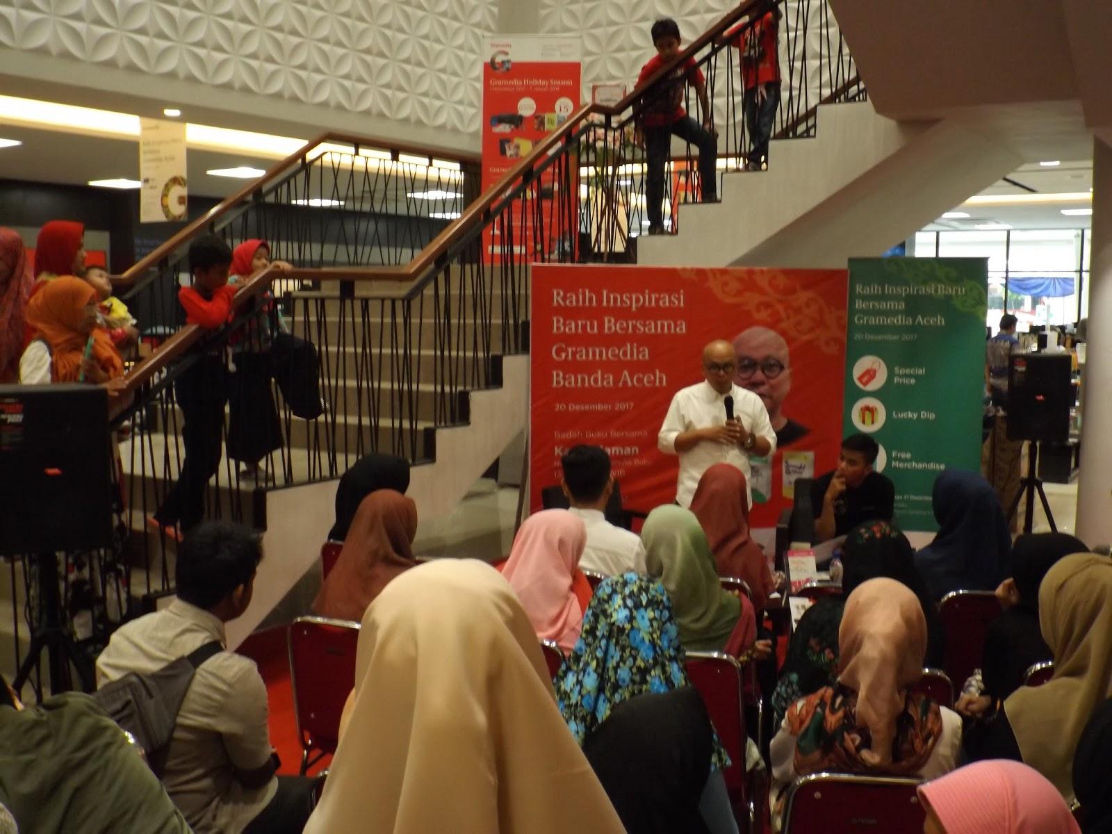 Toko Buku Gramedia Hadir Di Banda Aceh Karena Minat Baca Tinggi