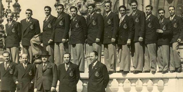 BALONCESTO-EGIPTO-EUROPA-1949