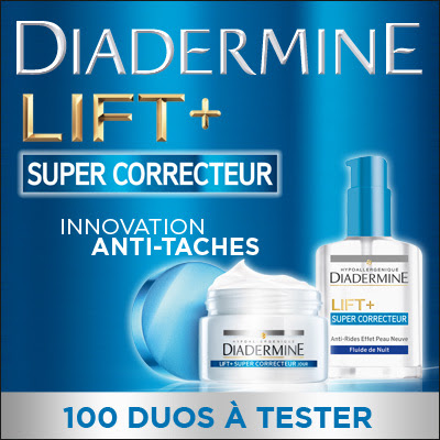 Test Produit 100 Duos Diadermine Innovation Anti-Tâches à tester !