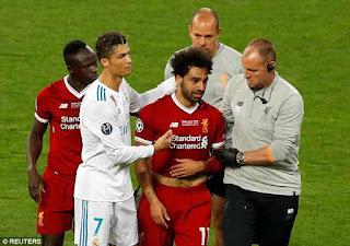 محمد صلاح، مهاجم ليفربول قد يغيب عن منتخب مصر خلال نهائيات كأس العالم 2018