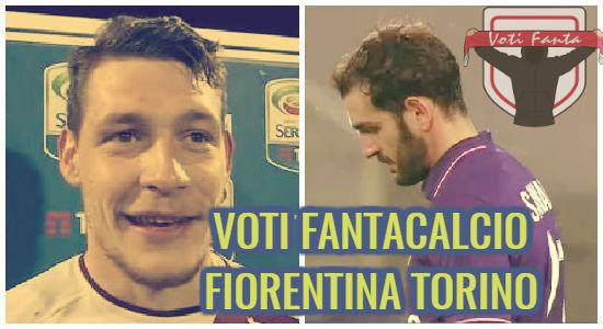 Voti fantacalcio Fiorentina Torino