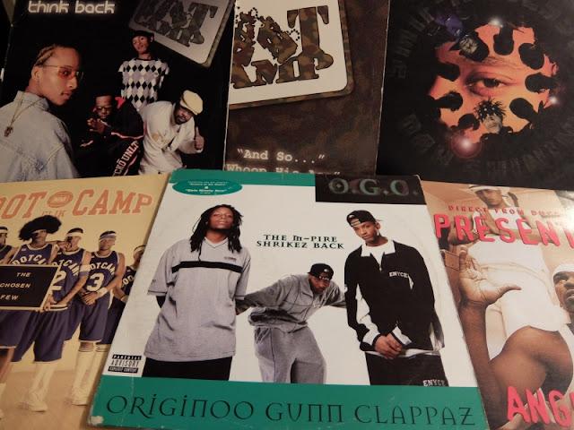 ダックダウンレコードのブートキャンプクリック一派のアナログレコードの写真です。