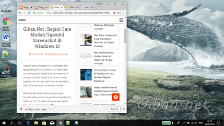 Cara Mudah Membuat Screenshot di Windows 10