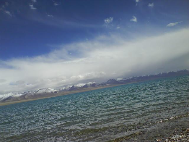 拉薩景點-西藏聖湖納木措
