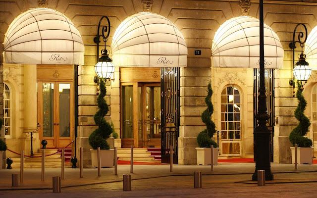 Celebrating the Re-opening of the Ritz Paris - You May Be Wandering blog