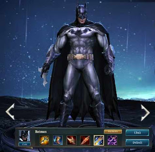 Build item terbaik dan arcana Batman arena of valor (AoV).