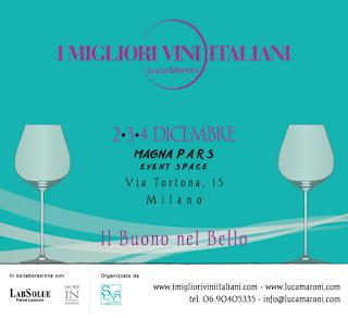 I Migliori Vini Italiani 2-3-4 dicembre Milano