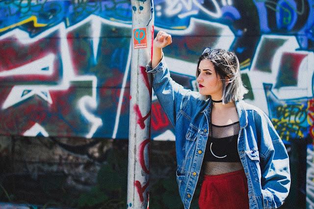 Girly Sporty Look streetwear