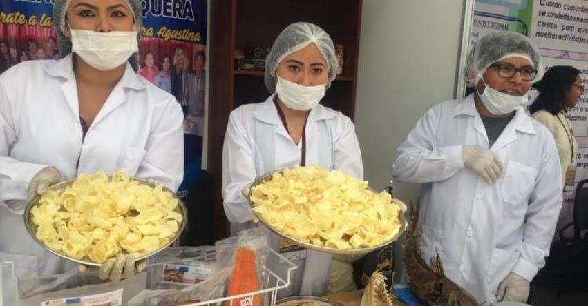 UNSA: Estudiantes de la Universidad Nacional de San Agustín de Arequipa elaboran hojuelas y helado de pota
