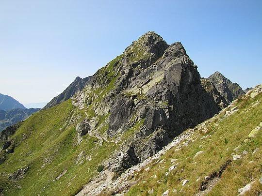 Poludniowy stok Kopy nad Krzyżnem.