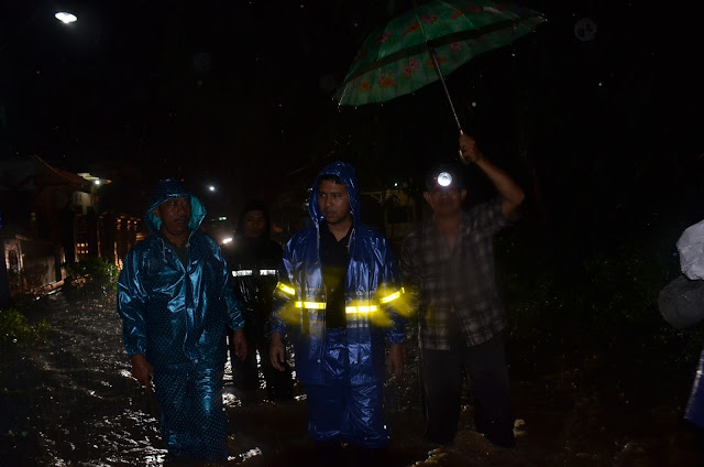 Dua Hari Berturut-turut Emil Dardak Tinjau Bencana Banjir