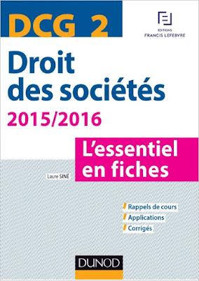 Télécharger Livre Gratuit DCG 2 - Droit des sociétés pdf