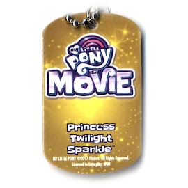 My Little Pony Princess Twilight Sparkle My Little Pony the Movie Dog Tag