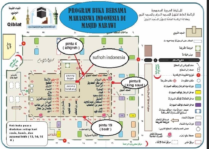 Masandhy berbagi Info : Sedang berada di Madinah