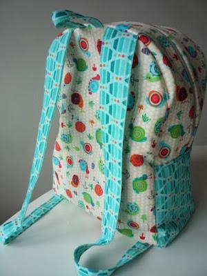 batůžek pro děti sewing backpack kids