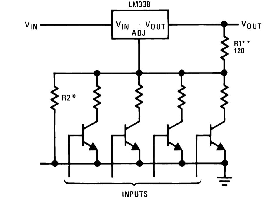 ic lm338 application circuits