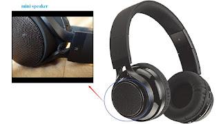 LIMITED TIME DISCOUNT Vinabty 2in1 Wireless Speaker,Over Ear Foldable Earphones £25.42