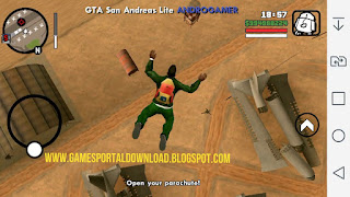 Grand Theft Auto San Andreas highly compressed