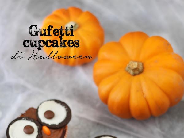 Gufetti cupcakes di Halloween