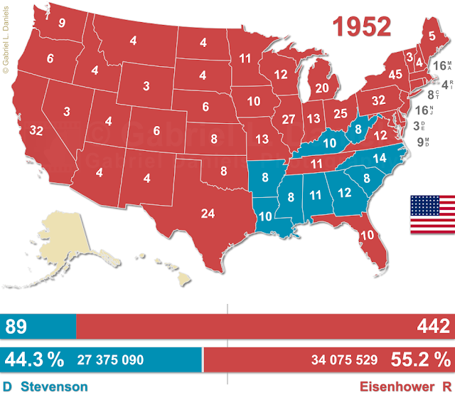 United States of America presidential election of 1952