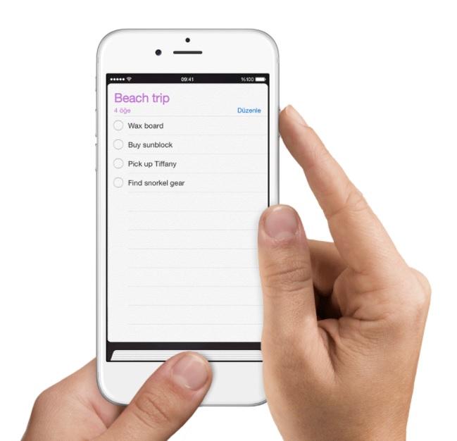 iphone ekran görüntüsü çekme
