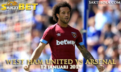 Prediksi Sakti Taruhan bola West Ham United vs Arsenal 12 JANUARI 2019