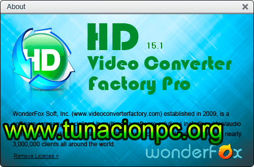 Descargar WonderFox HD Video Converter Factory Pro con Licencias Imagen
