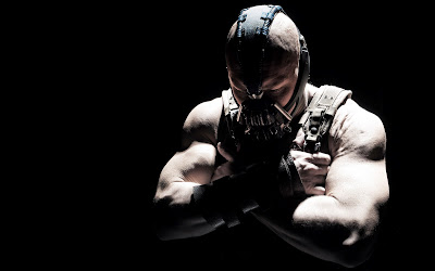 bane, tom hardy in menacing mask, The Dark Knight Rises, Directed by Christopher Nolan