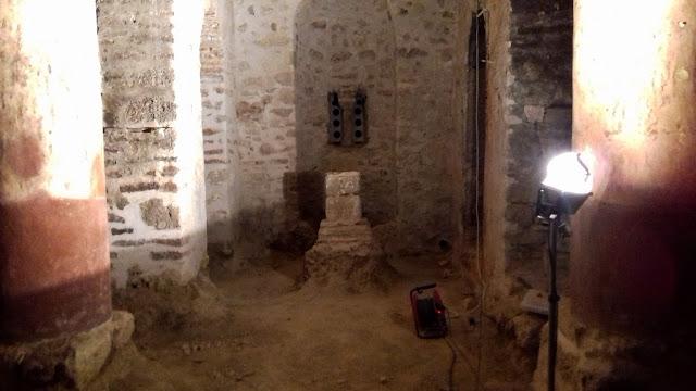 Aνακαινίζεται εξ ολικλήρου εσωτερικά ο ναός της Μονής Γηρομερίου (+ΦΩΤΟ)