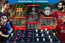 Live Streaming Liga Champions Barcelona vs Liverpool 2 Mei 2019
