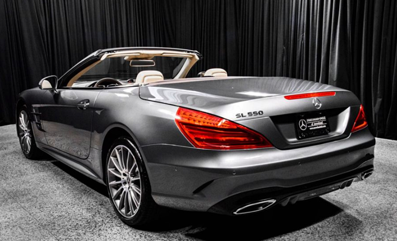 2018 Mercedes-Benz SL 550 Convertible Roadster Review