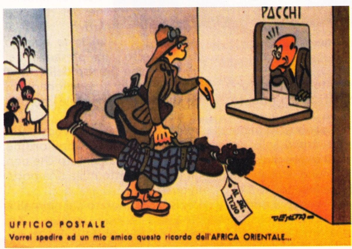 Preferenza Il colonialismo italiano nelle vignette umoristiche | documenti  AI94