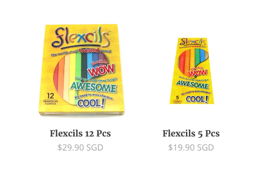 price of flexcils