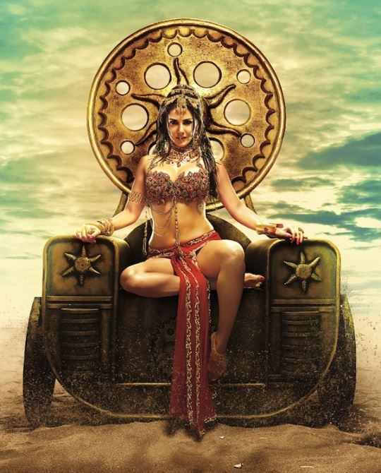 Sunny Leone Princess Look for Leela Movie