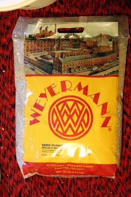 10 lbs of Weyermann Barke Pilsner Malt
